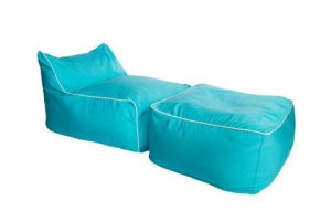Hip Chik Chairs Lounger Sezlong Set - Turkuaz